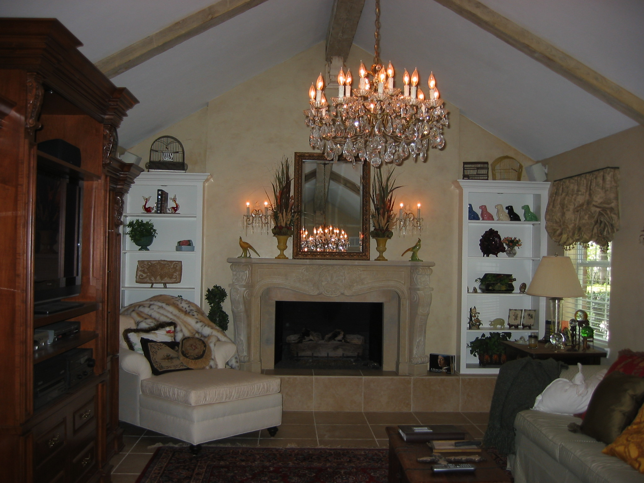 French Country Living Room By Brenda Krenek  A S I D