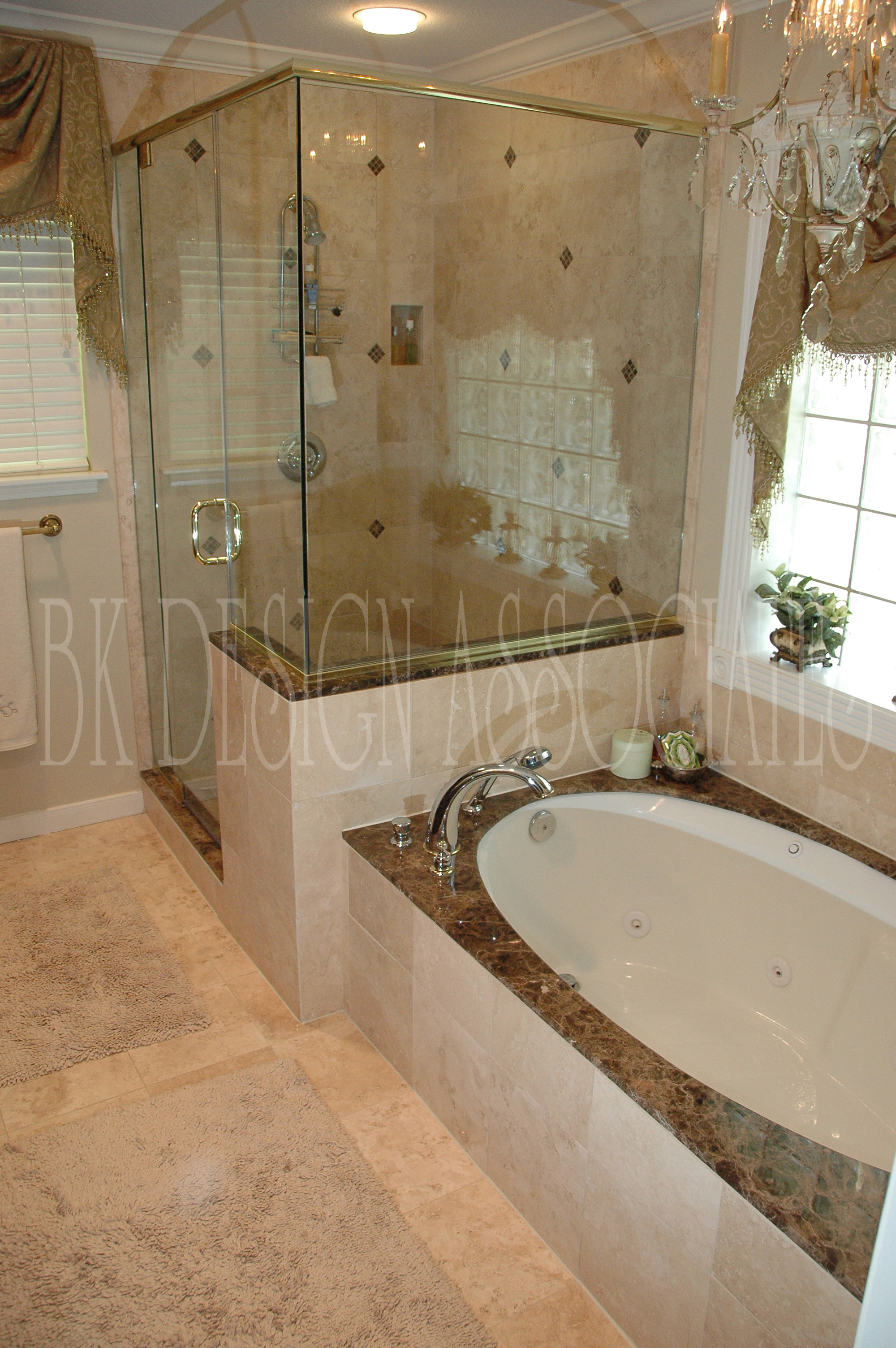 Master Bath Shower - Houston Interior Design Firm, BK Design ...