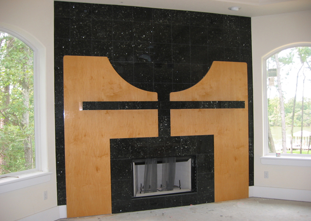 CUSTOM FIREPLACE DESIGN, Interior Designer - BK DESIGN ASSOCIATES